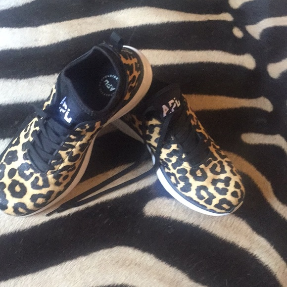 d720c0ea223d APL Shoes | Womens Phantom Leopard Sneakers | Poshmark